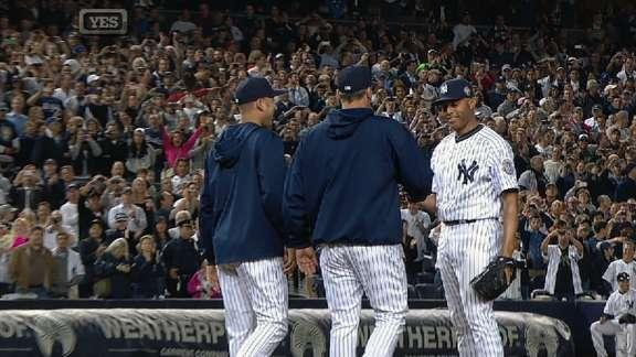 Mariano Rivera's Yankee Stadium farewell gives us the coolest pitching change ever