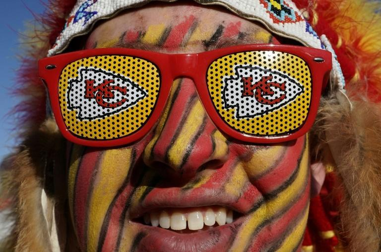 The Kansas City Chiefs have a huge Iowa following, which could affect last-minute campaigning in a tight race because the team plays in the Super Bowl on the eve of the Iowa caucuses (AFP Photo/TIMOTHY A. CLARY)