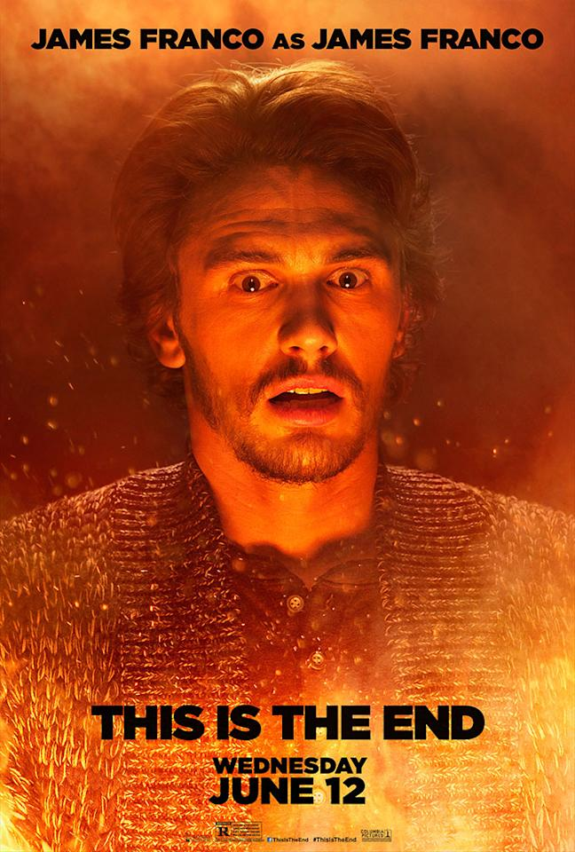 "James Franco stars in Columbia Pictures' ""This Is the End"" - 2013"
