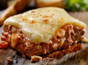 """<p><strong>Recipe: <a href=""""https://www.southernliving.com/recipes/classic-lasagna"""" rel=""""nofollow noopener"""" target=""""_blank"""" data-ylk=""""slk:Classic Lasagna"""" class=""""link rapid-noclick-resp"""">Classic Lasagna</a></strong></p> <p>This might be the ultimate family recipe served during Christmastime, thanks to an easily prepped-ahead recipe and hearty portion sizes. </p>"""