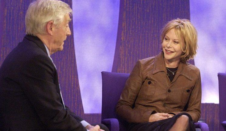Michael Parkinson pressed all the wrong buttons in this awkward Meg Ryan interview - Credit: BBC