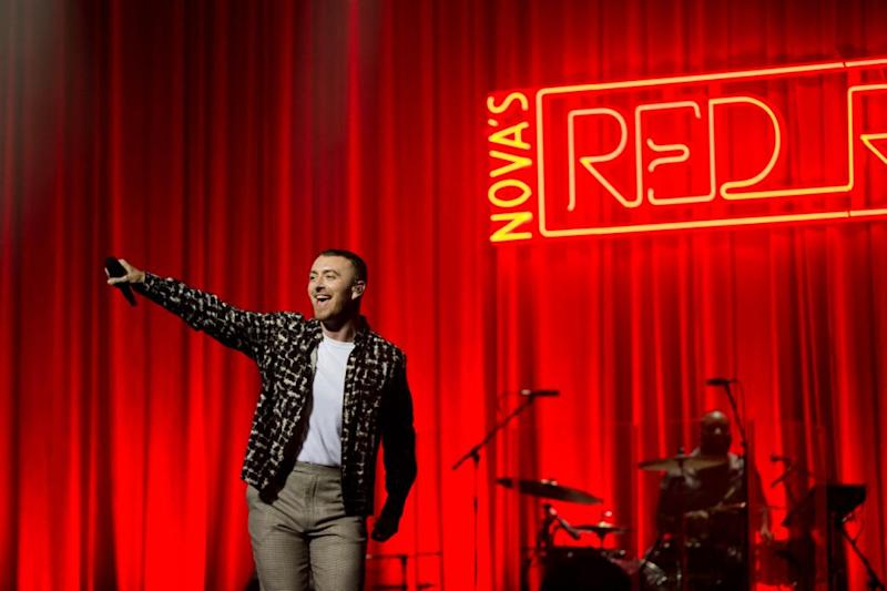 Sam Smith gave more than just a good show during at the Sydney Opera House last night. Source: Nova