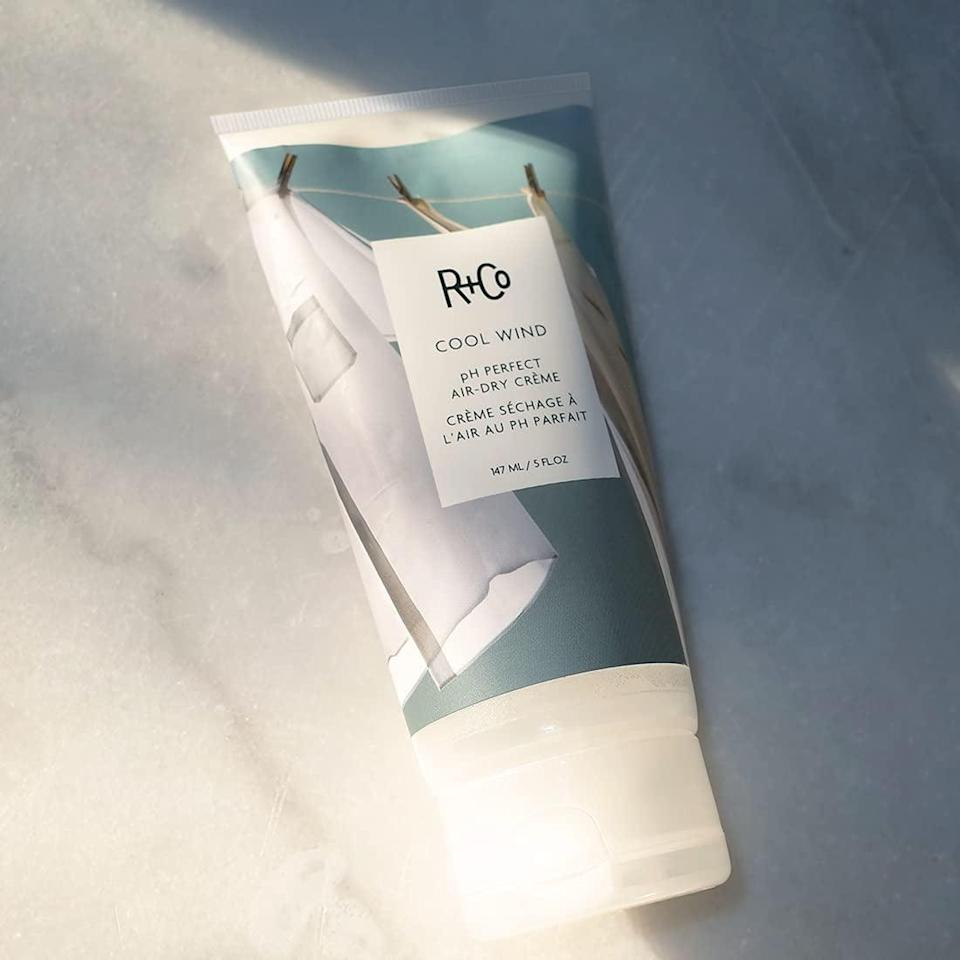 <p>We all have those days where we're too tired to blow dry our hair. That's why stocking up on this <span>R+Co Cool Wind pH Perfect Air Dry Crème</span> ($20, originally $29) is a good idea. A little bit of this styling cream in your damp hair will give you that effortless yet soft and tamed look.</p>