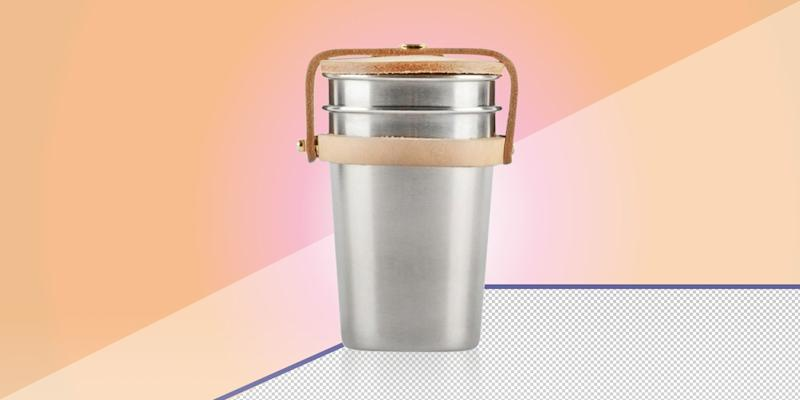 Whether you're out by the campfire or on a sandy beach, these stainless steel cups are the best accessory for a cocktail- or wine-fueled occasion. They'll keep your drink chilled and spare the ocean from one more plastic cup. SHOP NOW: Cup set by Yield, $42, yielddesign.co