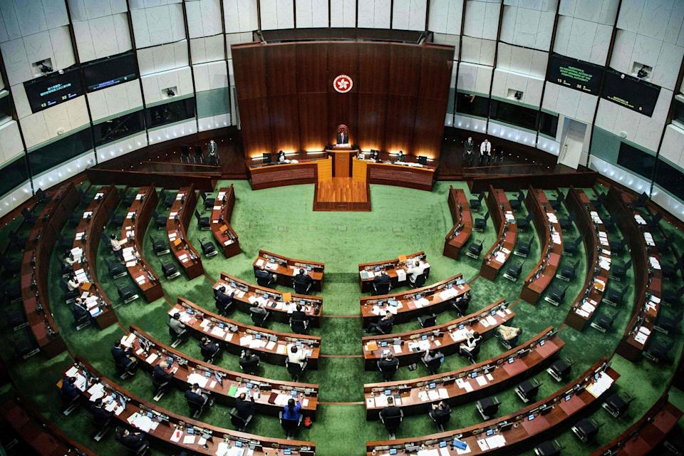 Hong Kong's legislature is set for an overhaul under changes imposed by Beijing, including a revamp of the powerful body that selects the city's leader. Photo: AFP