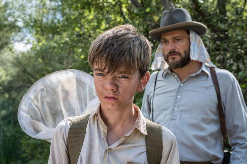 Milo Parker as a young Gerald Durrell (Sid Gentle Prod/ITV)