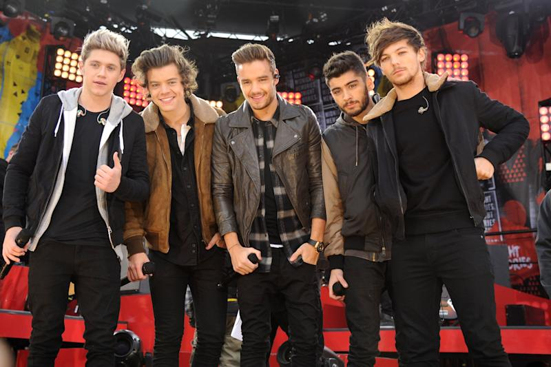 One Direction at an event