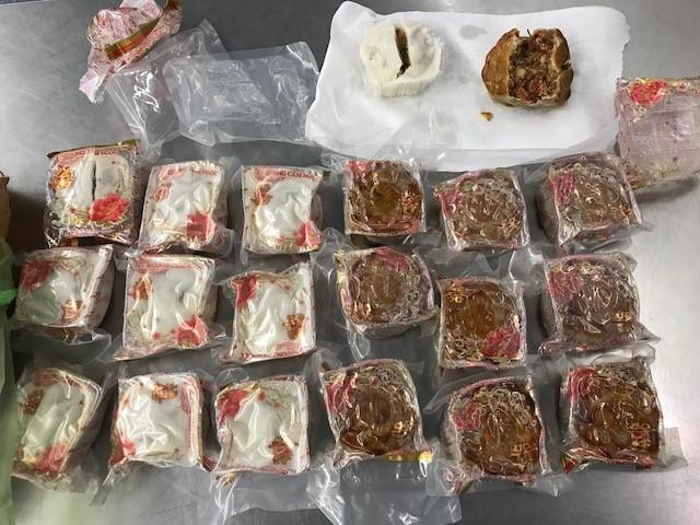 Border security officials are seizing tonnes of undeclared food products. Source: Supplied