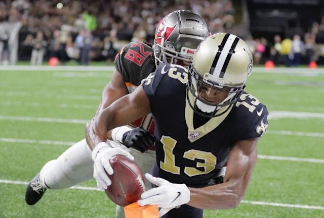 Record watch: Keep up with Saints WR Michael Thomas as he chases a 17-year-old NFL record