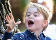 <p>Prince George got to go to a children's party for Military families during the Royal Tour of Canada in September 2016. (Sam Hussein/WireImage)</p>