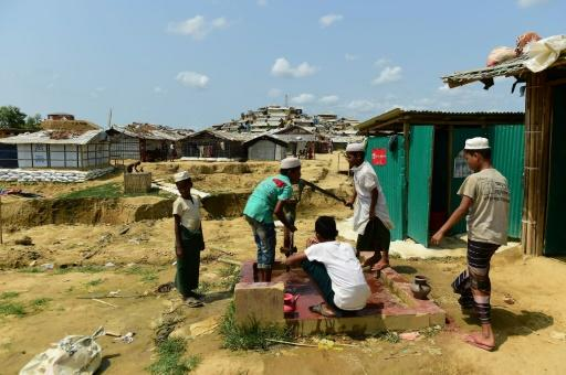 Many young Rohingya are reportedly anxious about giving up food and water amid the scorching temperatures in the camp