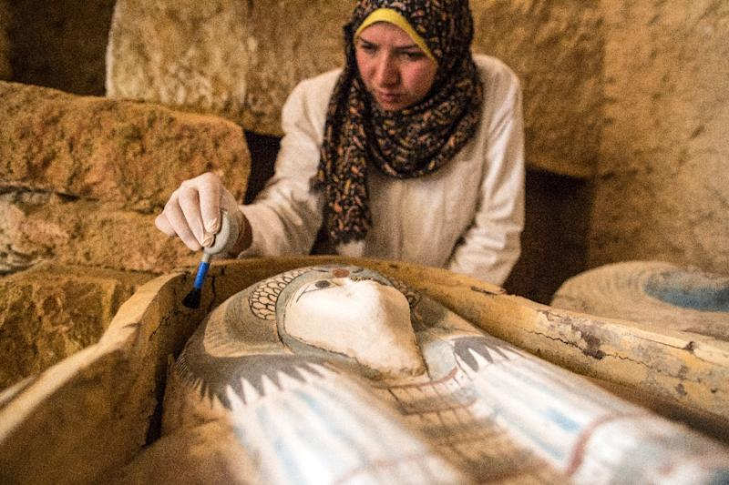 Ancient cemetery discovered at Giza pyramids