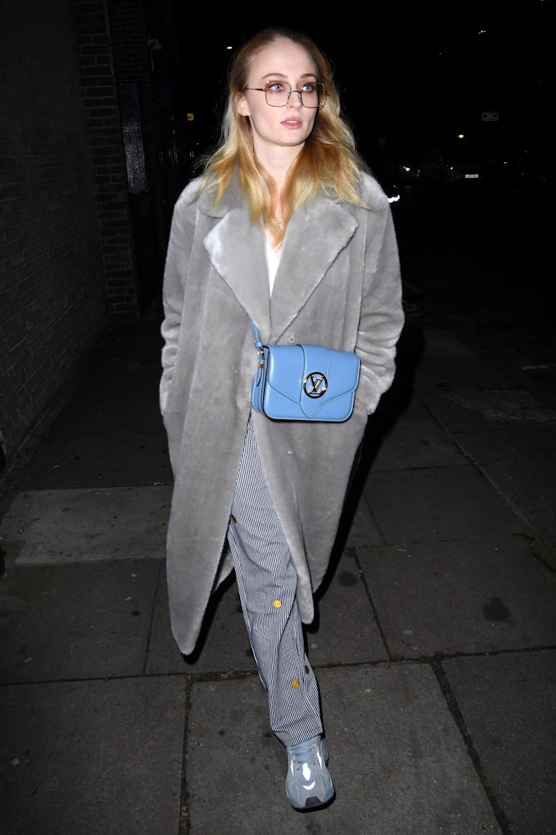 Sophie Turner spotted with a LV Pont 9. (PHOTO: Louis Vuitton)