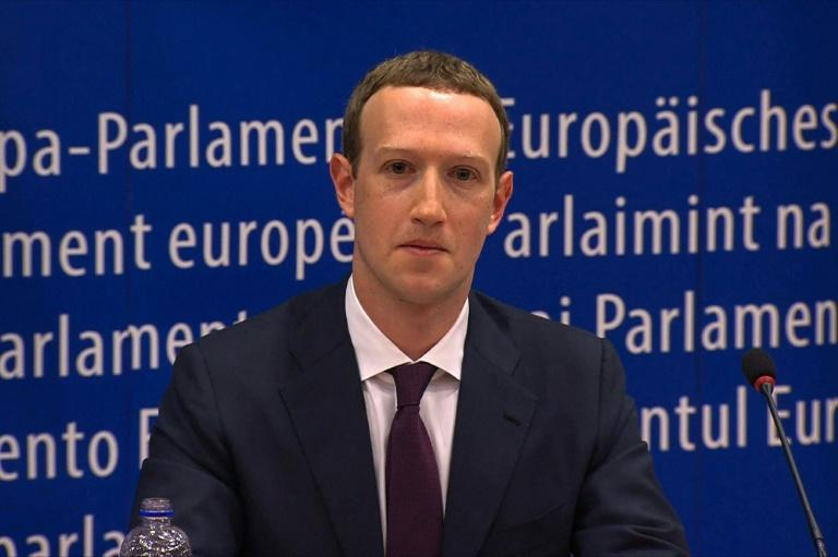 """Mark Zuckerberg admitted that Facebook had failed to prevent its tools """"from being used for harm"""", in a hearing in Brussels on Tuesday"""