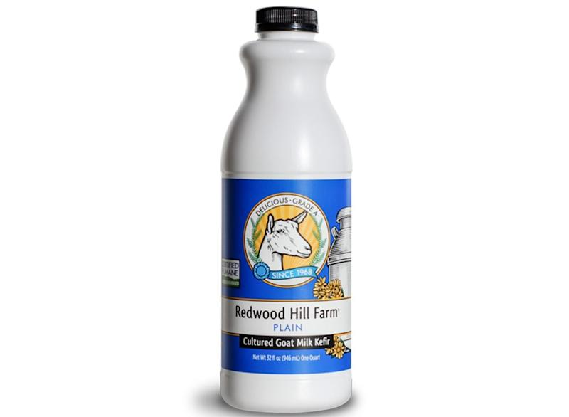 Redwood hill farm plain cultured goat milk kefir