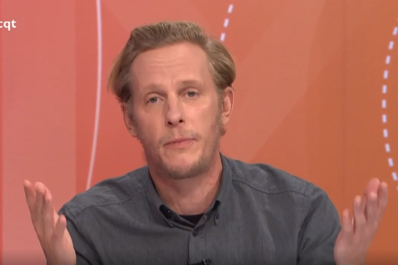Laurence Fox said it was racist to call him a white privileged male (BBC)