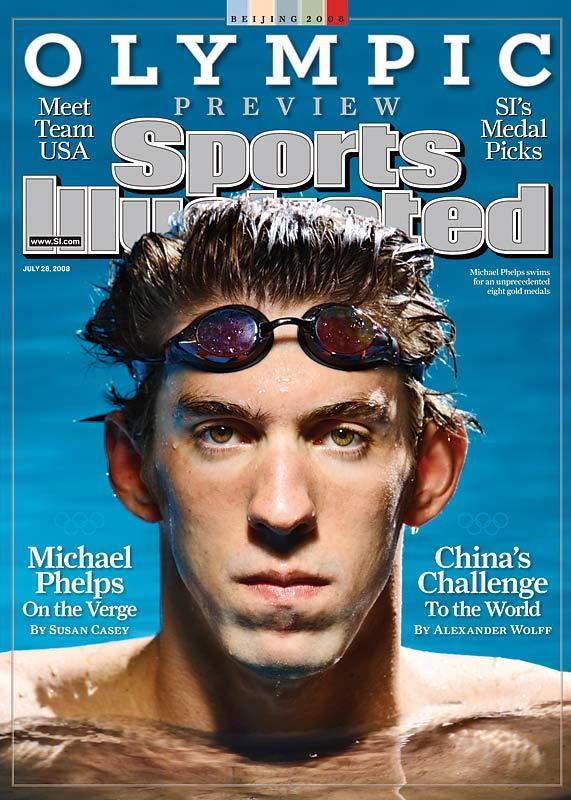 Beijing 2008 preview issue of Sports Illustrated