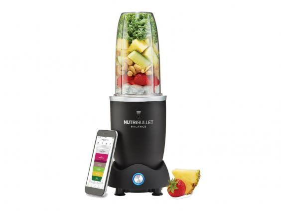 Juice fruit for smoothies and vegetable for soups with a bullet blender (Argos)