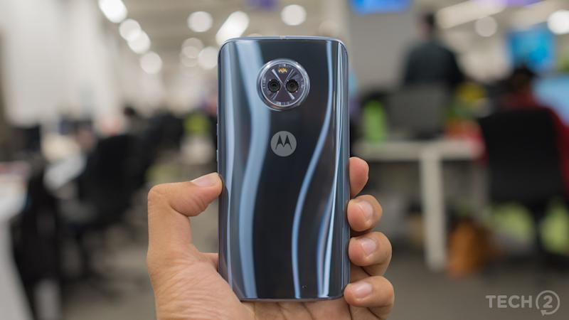 The Moto X4. Image: tech2/Rehan Hooda