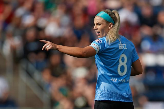 Including the NWSL in its compensation argument could have made a key difference for the USWNT. (Photo by Robin Alam/Icon Sportswire via Getty Images)