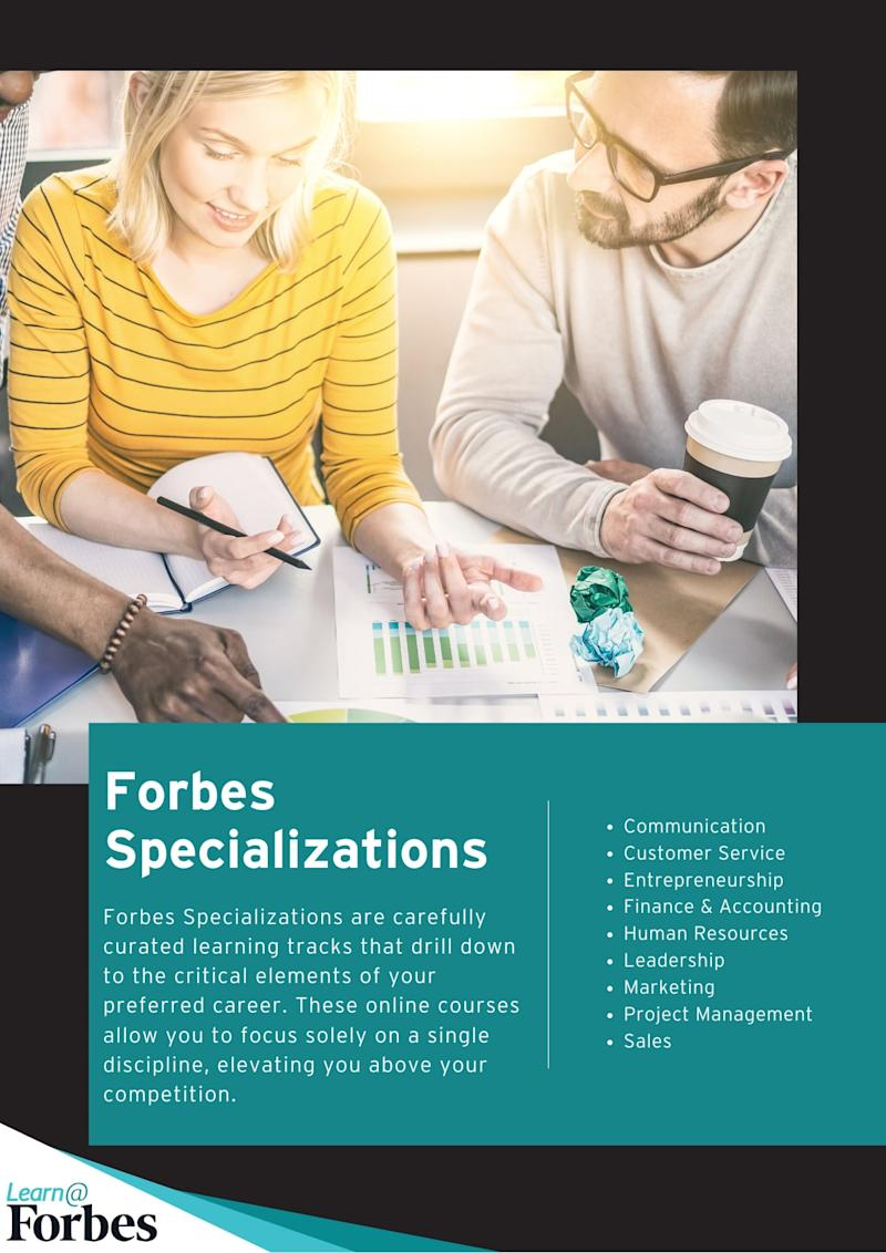 Forbes Specializations