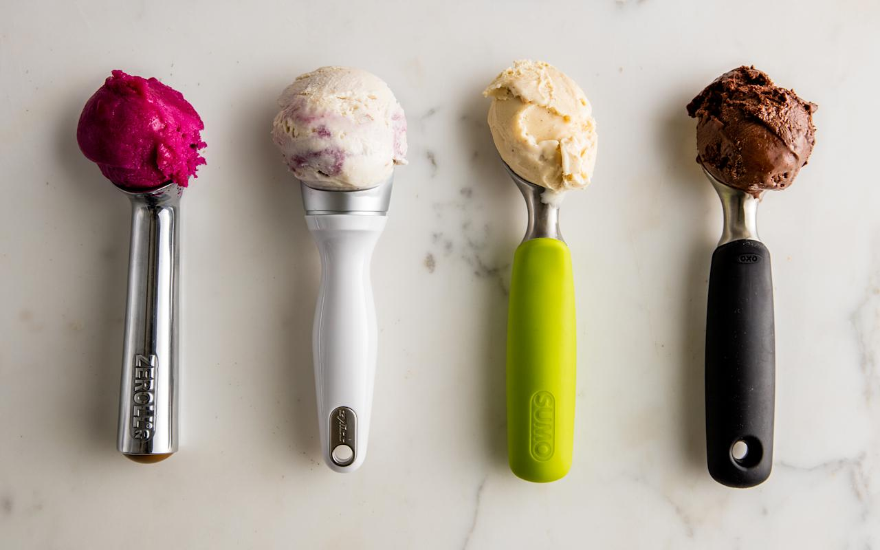 F&W tested seven popular ice cream scoops to find the best.