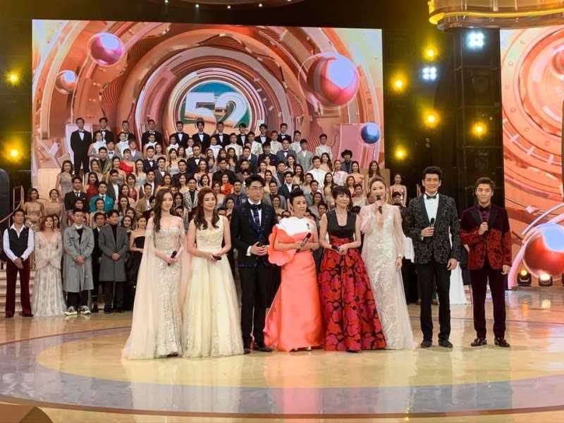 TVB's annual Anniversary Gala Show was pre-recorded last month, after the live broadcast was shelved due to security concerns. ― Picture via Facebook/lizawangliza