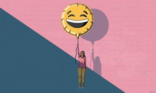 You've got to laugh: why a sense of humour helps in dark times
