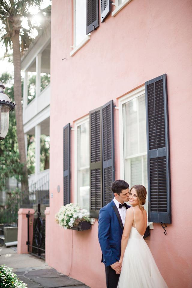 <p>Elizabeth and Felix fell for Charleston and dashed to South Carolina for a destination wedding like no other. As if their picturesque, Holy City celebration wasn't enough to fill them with joy, Felix also received news that afternoon that he was accepted into medical school. It's no wonder they were all smiles all day long.</p>