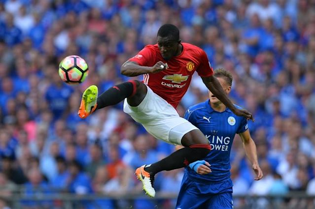 Manchester United centre-back Eric Bailly expects to return within two months after injuring his knee (AFP Photo/Glyn Kirk)