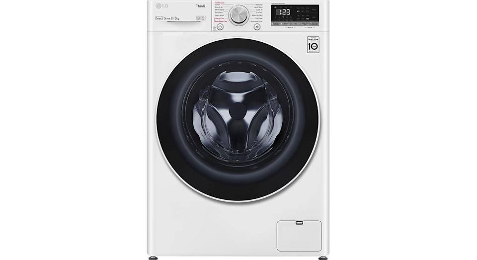LG AI DD V6 FWV685WSE WiFi-enabled 8 kg Washer Dryer
