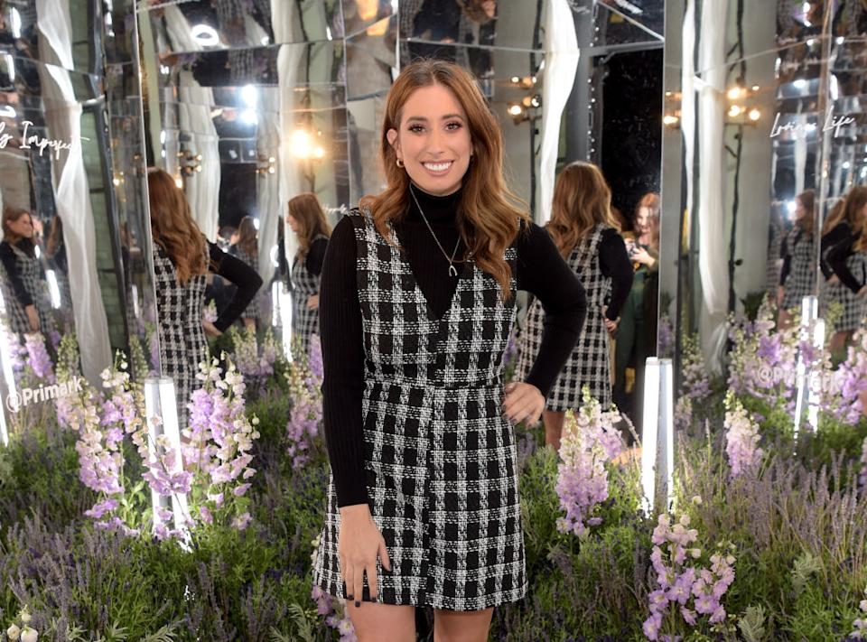 Stacey Solomon has revealed she suffers from imposter syndrome. (Getty Images)