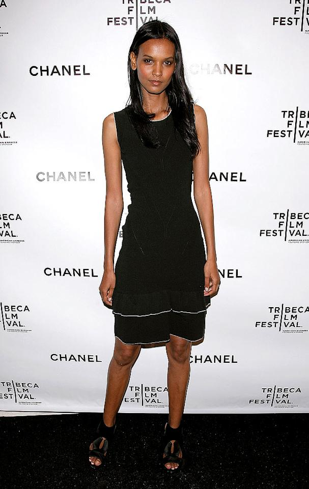 "Gorgeous Ethiopian model Liya Kebede opts to wear a simple black sheath to the event. We doubt she took part in any of the rich Italian dishes that were served at the soiree! Jemal Countess/<a href=""http://www.wireimage.com"" target=""new"">WireImage.com</a> - April 28, 2008"