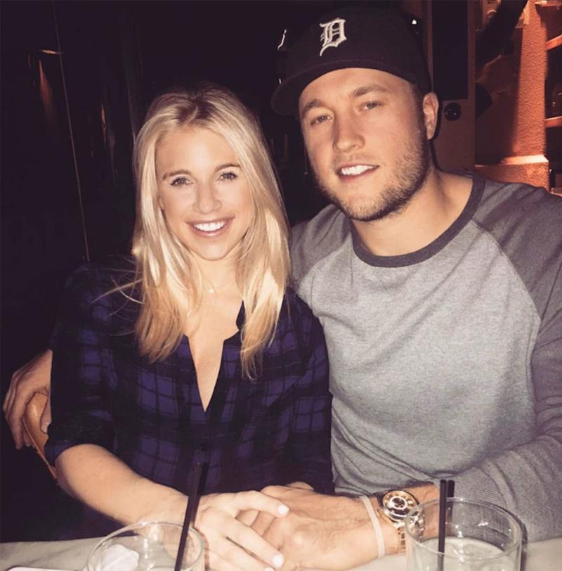 Matthew Stafford Says Wife's Brain Tumor Changed His 'Perspective' on Life