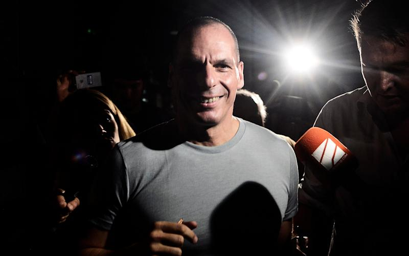 Greek Finance Minister Yanis Varoufakis. - Getty Images Europe