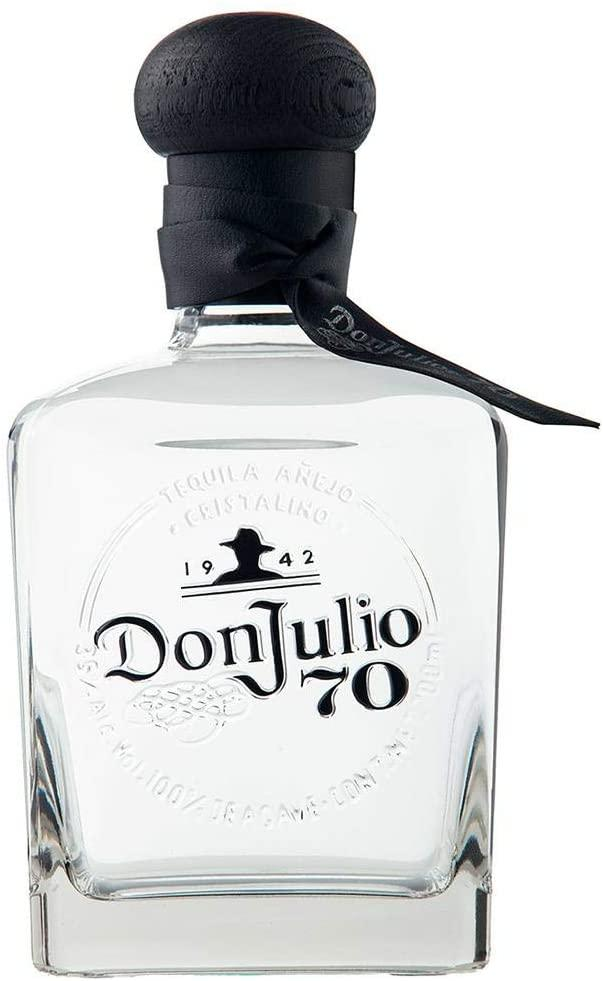 Tequila Don Julio 70 Añejo Cristalino 700 Ml