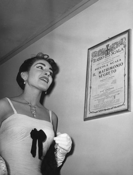 Maria Callas famously lost a huge amount of weight -- causing some fans to complain her voice suffered as a result