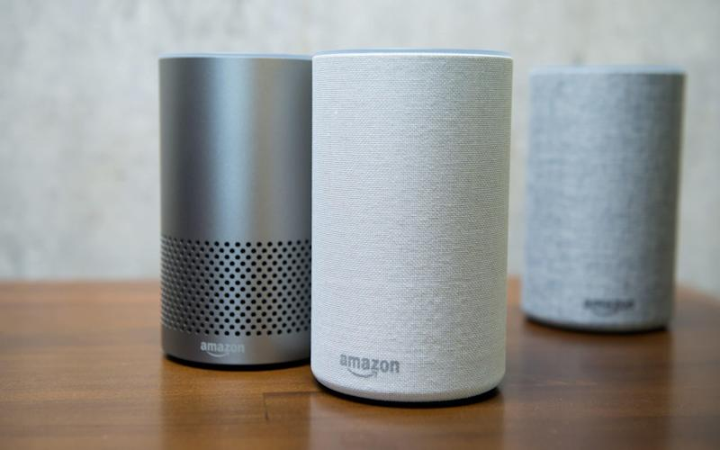 Amazon Echo speakers - Bloomberg