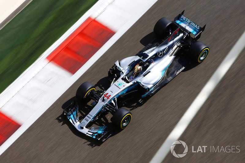 """Mercedes W08 EQ Power+ (2017)<span class=""""copyright"""">Andrew Hone / Motorsport Images</span>"""