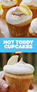 """<p>Pair it with a hot toddy, duh.</p><p>Get the recipe from <a href=""""https://www.delish.com/cooking/recipe-ideas/recipes/a56370/hot-toddy-cupcakes-recipe/"""" rel=""""nofollow noopener"""" target=""""_blank"""" data-ylk=""""slk:Delish"""" class=""""link rapid-noclick-resp"""">Delish</a>.</p>"""