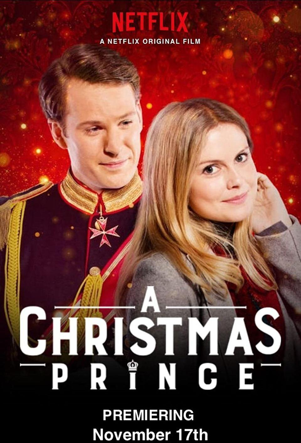 """<p>The Netflix Christmas original that started it all,<em> The Christmas Prince</em> took the internet by storm in 2017. The holiday rom-com follows journalist Amber Moore as she travels to Aldovia to cover the crown prince's ascension to the royal throne. She goes undercover to report on the story...and ends up falling for the prince in the process (because, of course she does).</p><p>But will they get their snow-capped happily ever after? You'll just have to tune in to find out.</p><p><a class=""""link rapid-noclick-resp"""" href=""""https://www.netflix.com/watch/80160759"""" rel=""""nofollow noopener"""" target=""""_blank"""" data-ylk=""""slk:Watch Now"""">Watch Now</a></p>"""