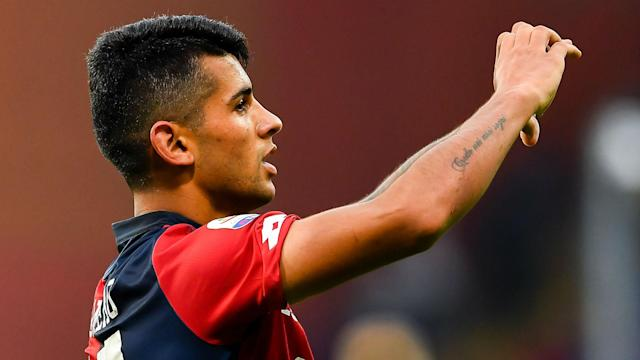 Cristian Romero has agreed a five-year contract with Juventus, but will spend the first season back at former club Genoa on loan.
