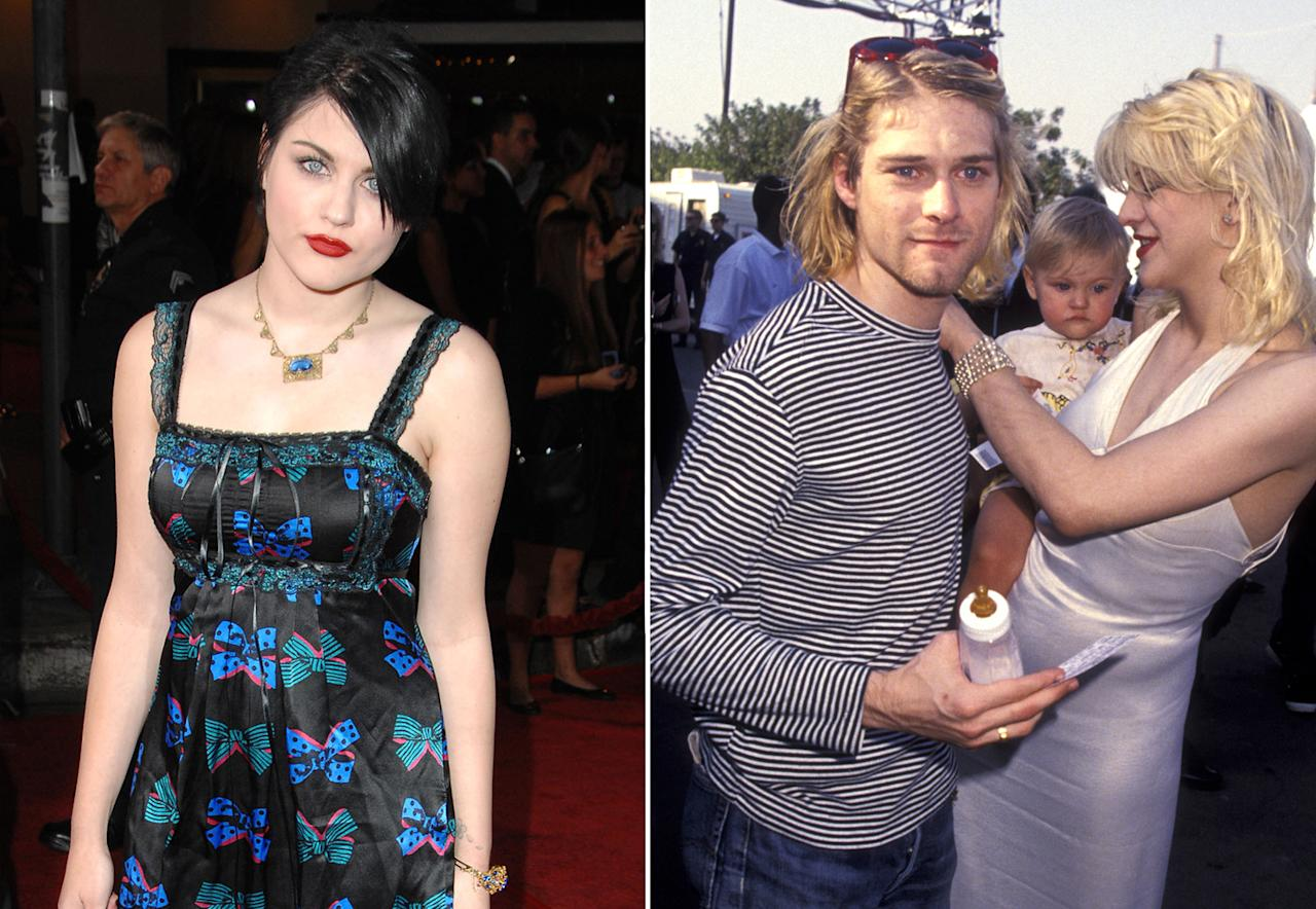 Frances Bean Cobain is the daughter of Kurt Cobain and Courtney Love. She has a complicated relationship with her mother, taking their fights to both Twitter and the courts.