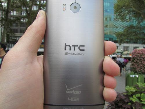 Back of HTC One M8 for Windows