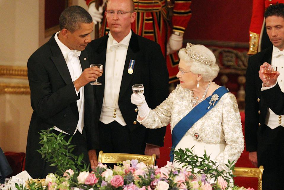 The Queen and Obama in 2011 (PA)