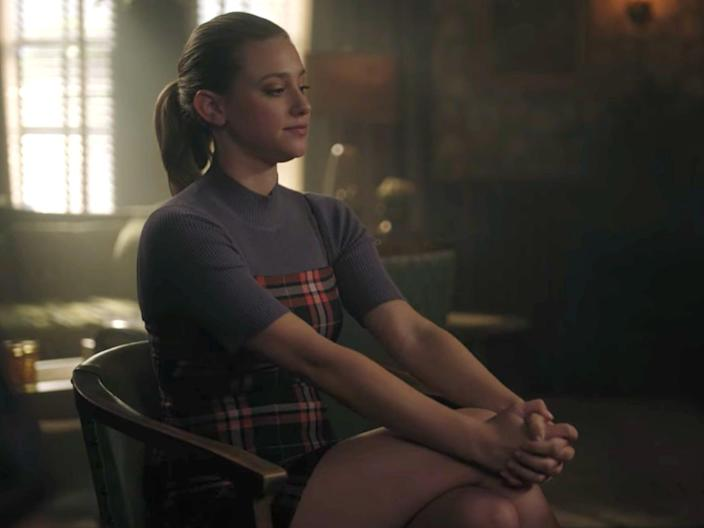 betty in plaid riverdale