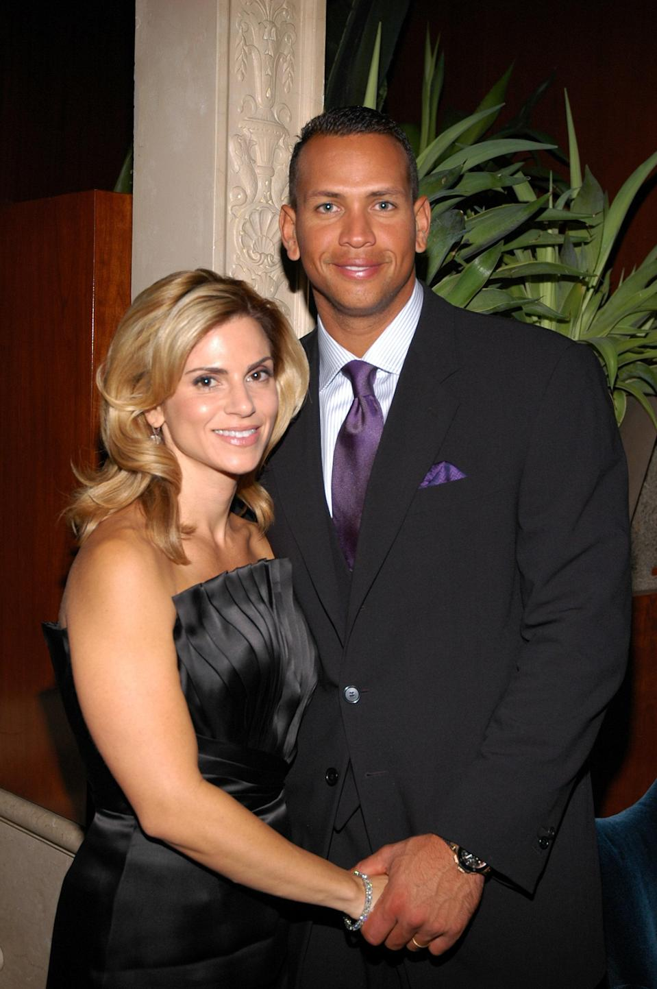 Alex Rodriguez and Cynthia Scurtis in 2007