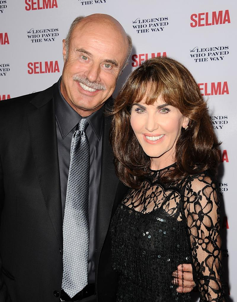 Dr. Phil and Robin McGraw (Photo by Jason LaVeris/FilmMagic)