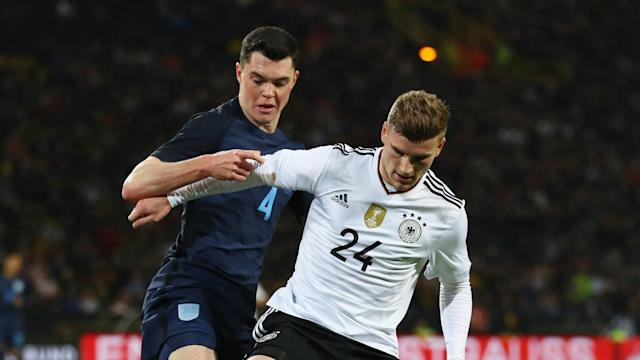 The Burnley centre back was handed his first ever senior appearance by Gareth Southgate in a narrow defeat to Germany