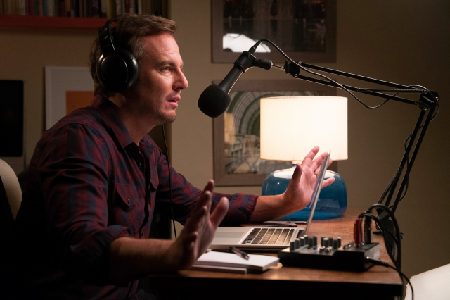 Executive producer Will Arnett guest stars as podcast host Sam Keurig in episode 3 of 'Hot Date' (Photo: Pop)